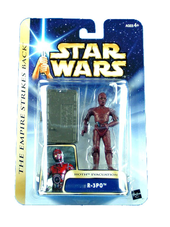 2003 Star Wars Saga R-3PO HOTH EVACUATION Sealed Mint on Card
